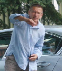 Jarosław Szostek prezes żeglugi ostródzko-elbląskiej były sędzia pilkarski